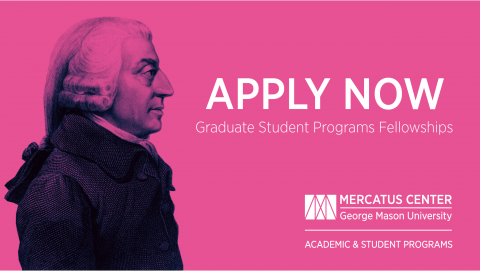 Adam Smith Fellowship 2020 for Doctoral Students worldwide ($10,000 award)
