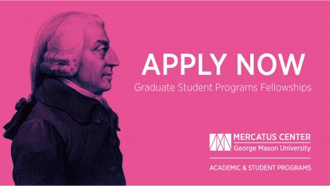 Adam Smith Fellowship 2020 for Doctoral Students worldwide ($10,000 award)
