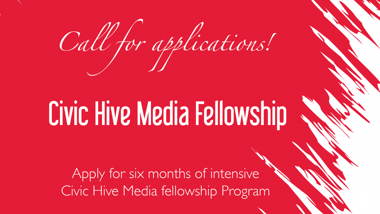 BudgIT Civic Hive Media Fellowship Program 2020 for Creative Journalists in Nigeria (Stipend of N150,000)