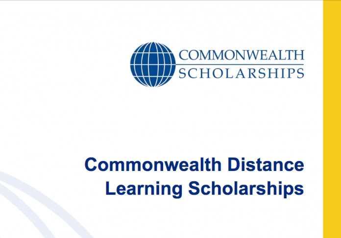 Commonwealth Distance Learning Scholarship 2021/2022 for Developing Commonwealth Countries