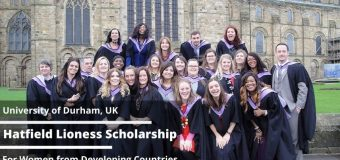 Durham University Hatfield Lioness Scholarship 2020 for Female Students from Developing Countries (Fully-funded)