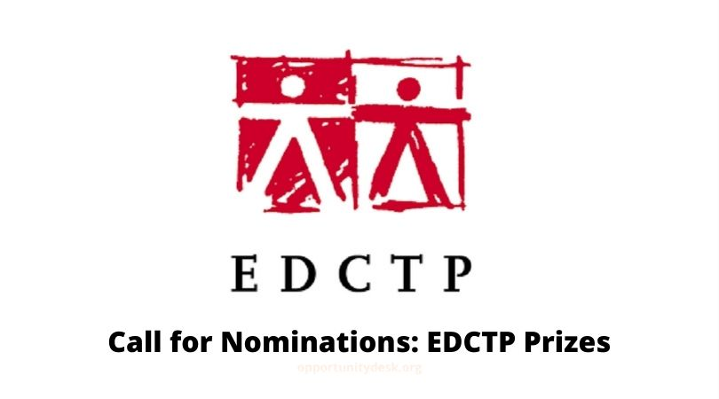 EDCTP International Prizes 2020 for outstanding Scientists and Research teams from Africa and Europe (€130,000 in Prizes)