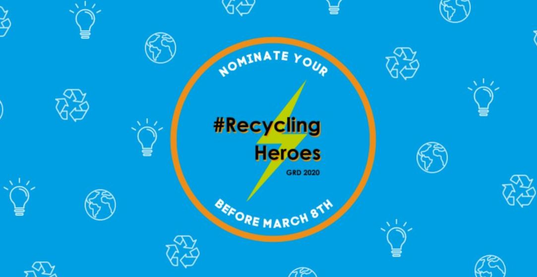 Global Recycling Foundation #RecyclingHeroes Competition 2020 ($1,000 prize)