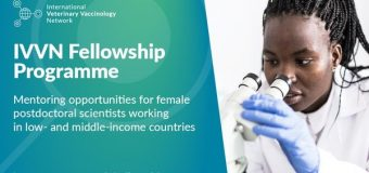 International Veterinary Vaccinology Network (IVVN) Mentoring Fellowships 2020 for Female Researchers (up to £50,000)