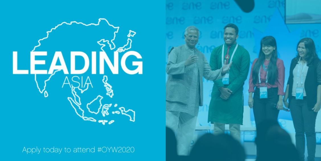 Leading Asia Scholarship to attend the One Young World Summit 2020 (Fully-funded to Munich, Germany)