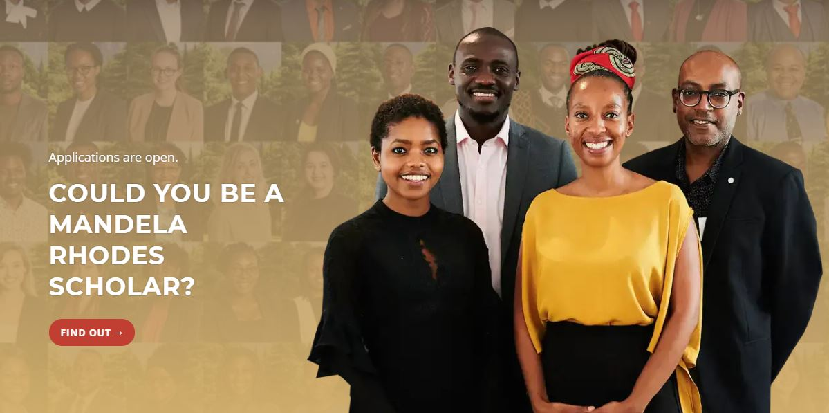 Mandela Rhodes Foundation Scholarship Programme 2021 for Young Africans (Fully-funded)