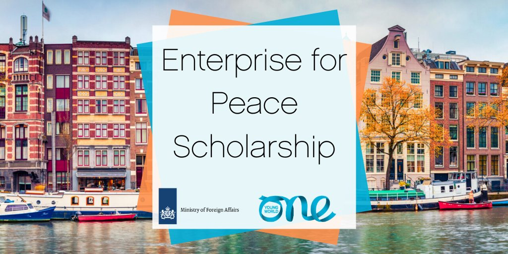 Enterprise for Peace Scholarship to attend One Young World Summit 2020 (Fully-funded to Munich, Germany)
