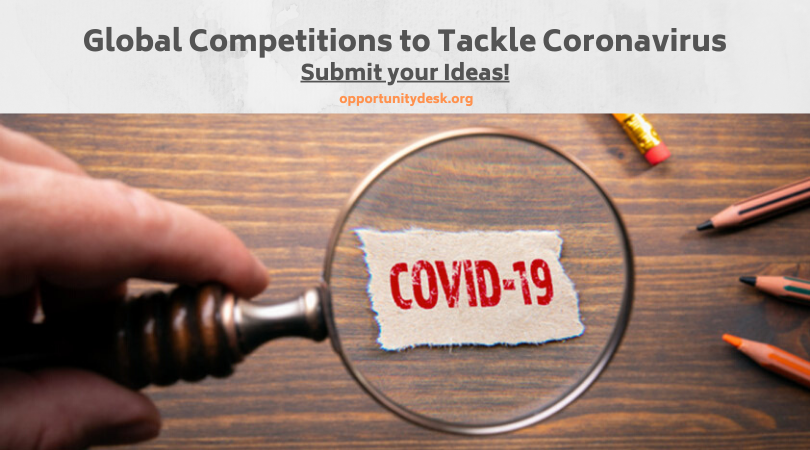 9 New Opportunities for Tackling COVID-19: APPLY!