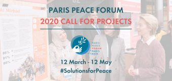 Paris Peace Forum 2020 Call for Projects with concrete solutions to tackle Global Challenges
