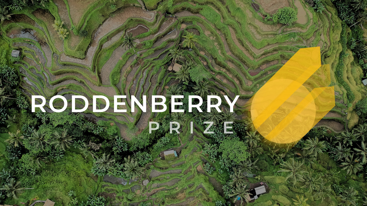 Roddenberry Prize 2020 Global Competition for Changemakers and Social Entrepreneurs (Up to $1M prize)