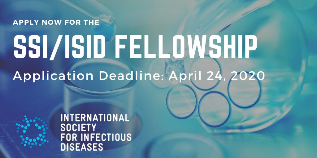 SSI/ISID Infectious Diseases Research Fellowship Program 2020 (up to 50,000 CHF)