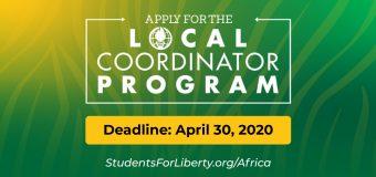African Students For Liberty Local Coordinators Program 2020