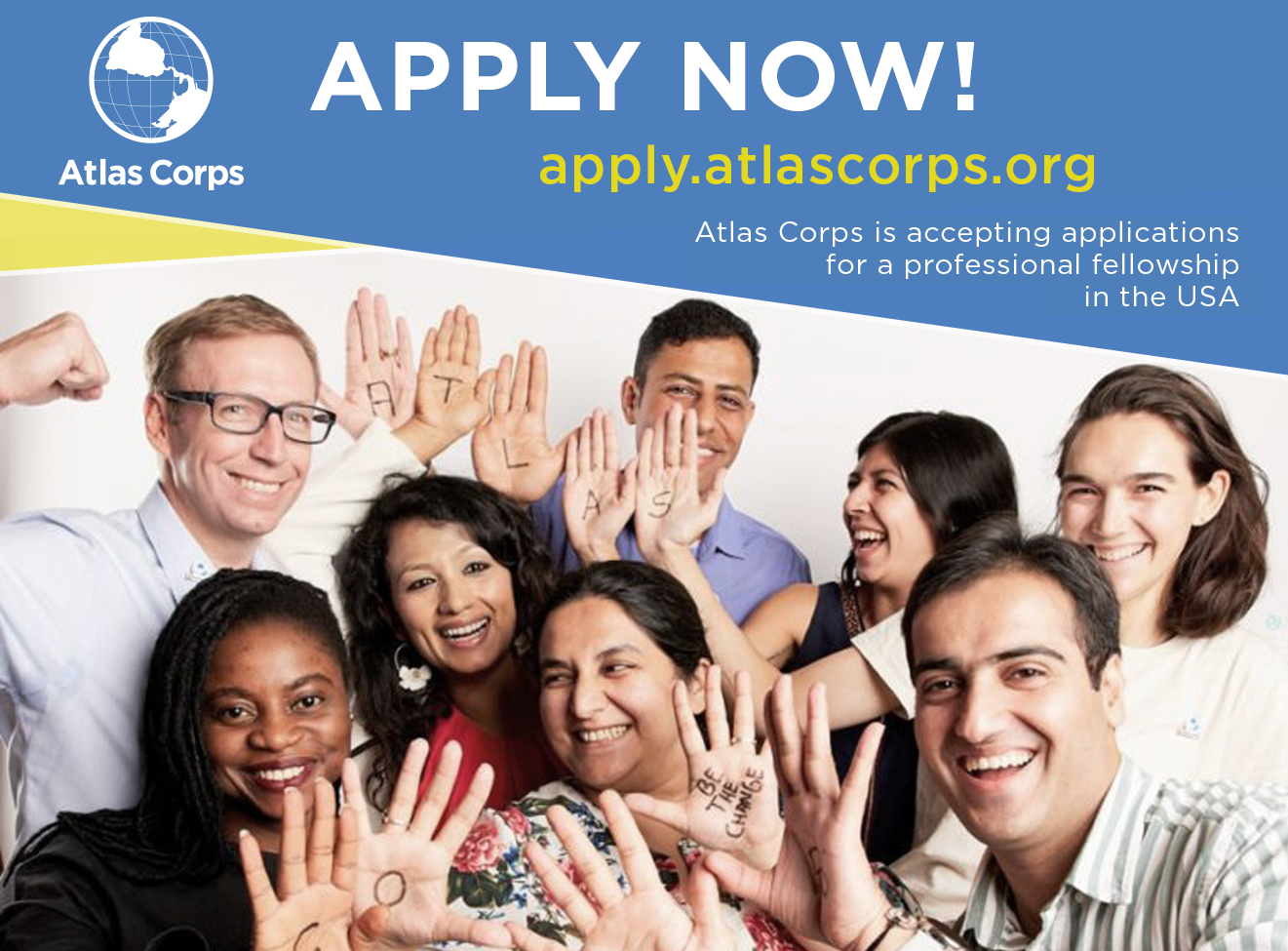 Atlas Corps Fellowship 2021 for Social Change Leaders (Fully-funded)