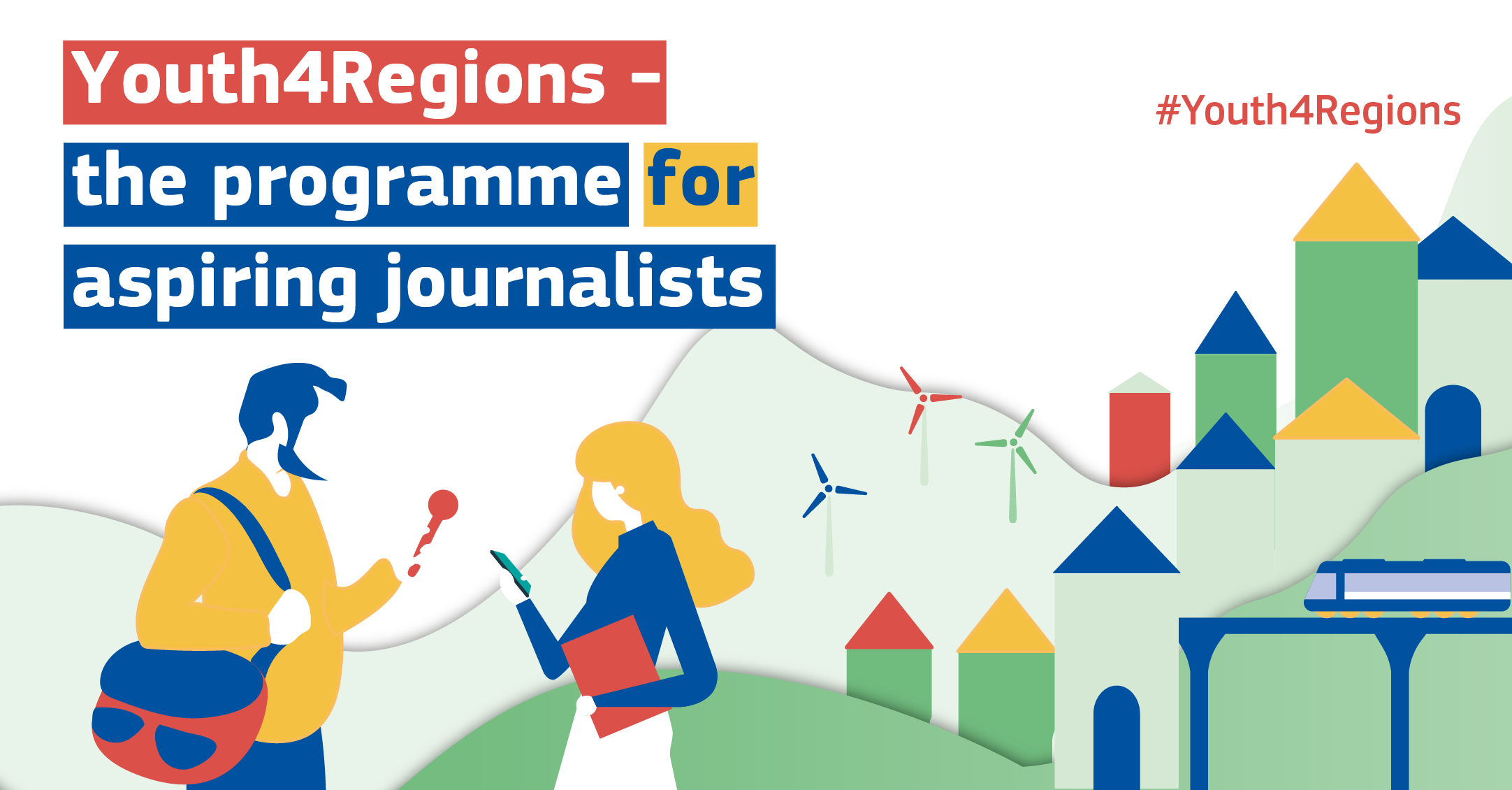 European Commission #Youth4Regions Programme 2020 for Aspiring Journalists (Fully-funded)