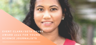 CASW's Evert Clark/Seth Payne Award 2020 for Young Science Journalists