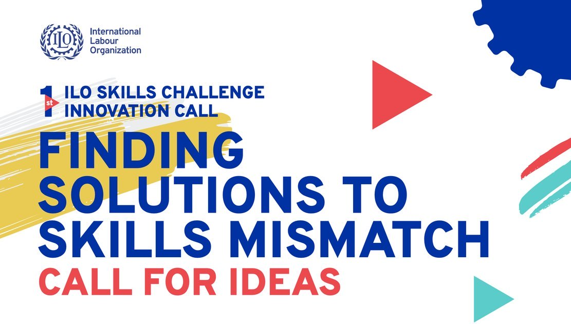 International Labour Organisation (ILO) Skills Challenge Innovation Call 2020 (Up to $50,000 grant)