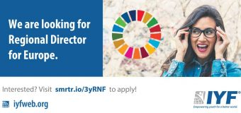International Youth Federation (IYF) is looking for a Regional Director for Europe
