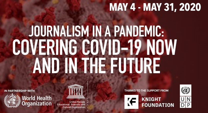 Knight Center Free Online Course 2020 for Journalists covering COVID-19