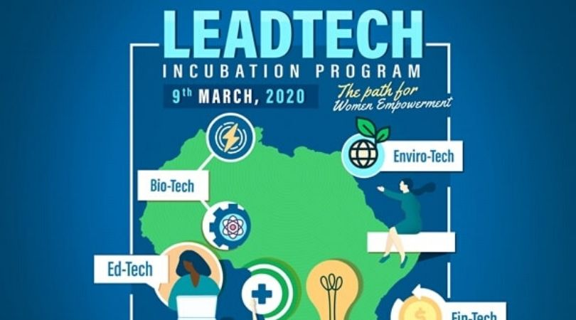 Mohammed VI Polytechnic University/AWIEF LeadTech Incubation Program 2020 Young Female entrepreneurs
