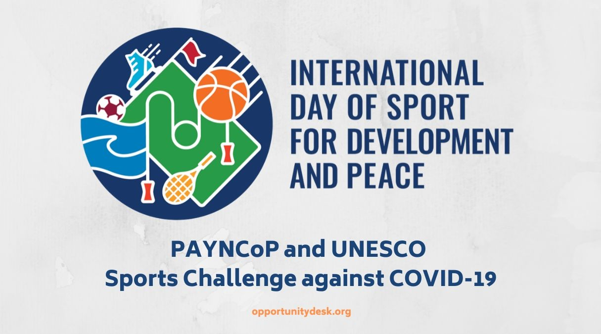 Call for Participation: PAYNCoP/UNESCO Sports Challenge against COVID-19 2020 for Young Africans