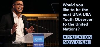 Apply to be UNA-USA's Youth Observer to the UN 2020-2021