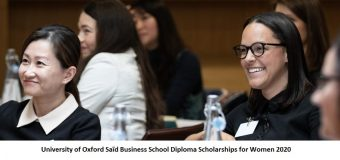 University of Oxford Saïd Business School Diploma Scholarships for Women 2020