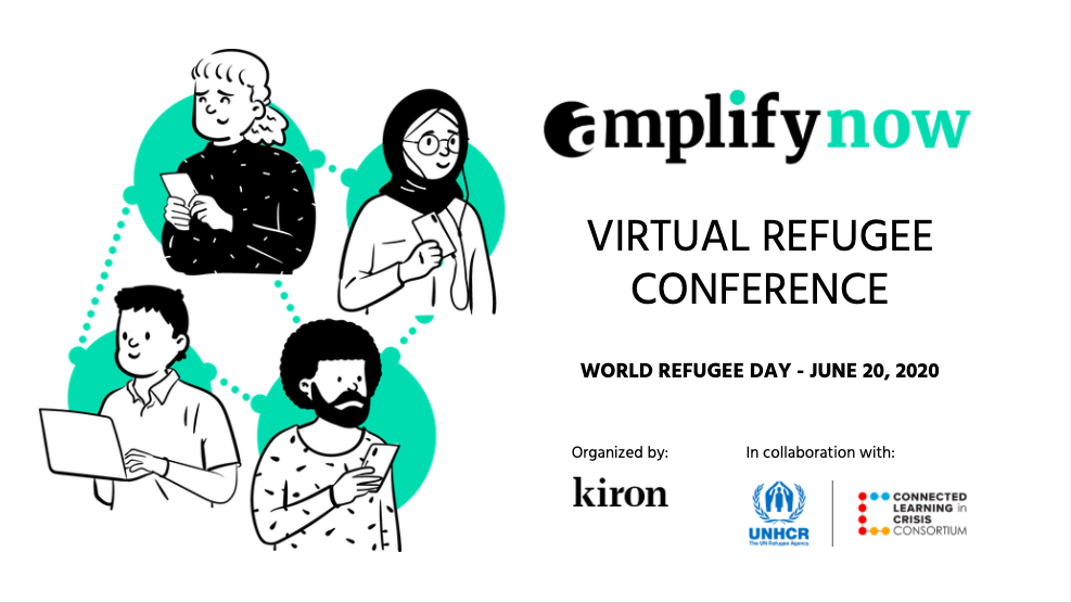 Kiron Virtual Refugee Conference – Amplify now – Impact Prize 2020
