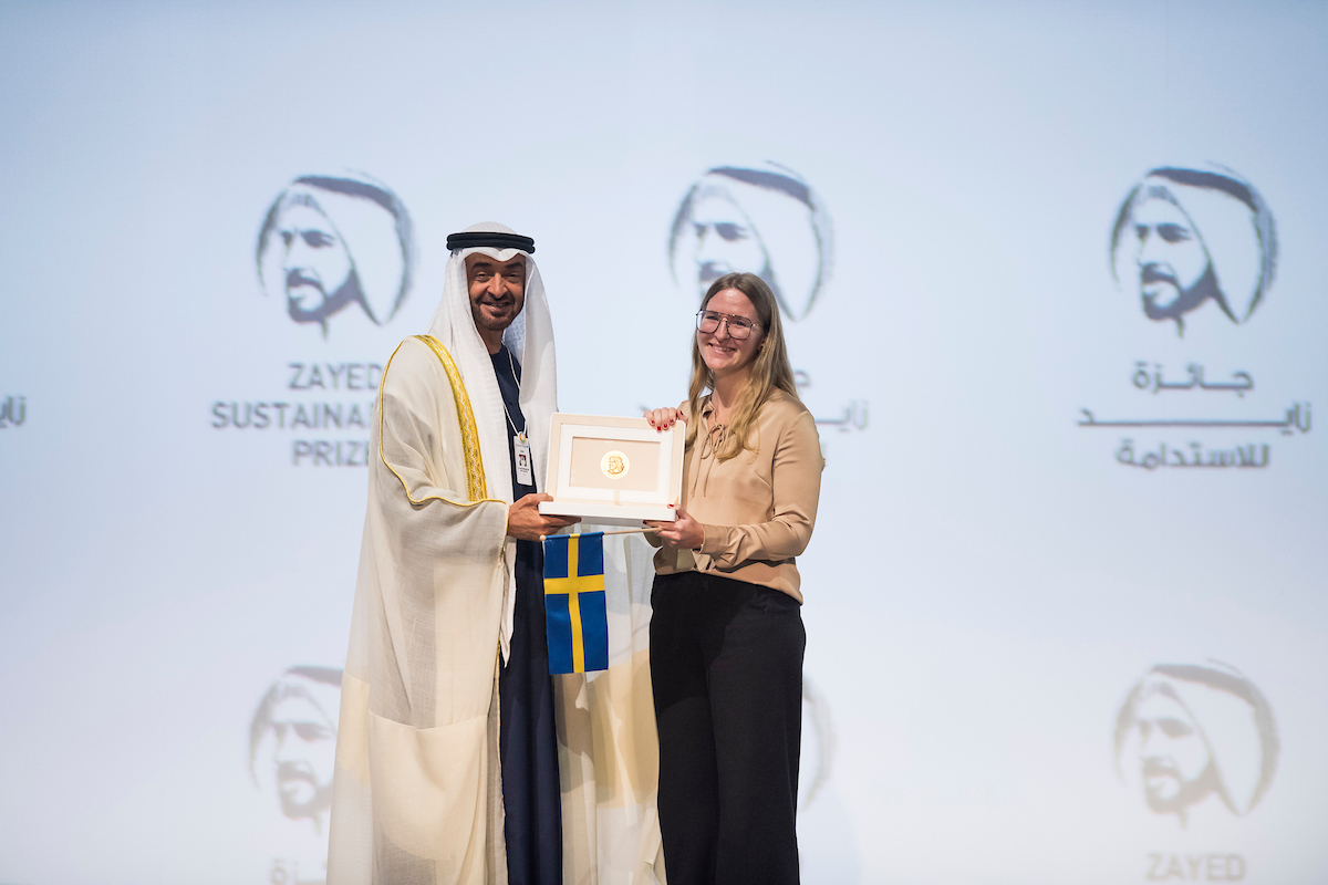 Zayed Sustainability Prize 2021 for Global Sustainability Pioneers (US$3 million in Prizes)