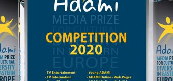 ADAMI Media Prize for Cultural Diversity in Eastern Europe 2020