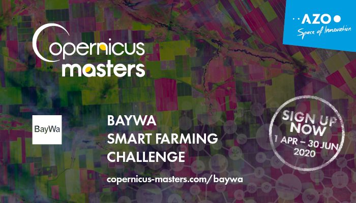 Apply for the BayWa Smart Farming Challenge 2020 (EUR 5,000 cash prize)