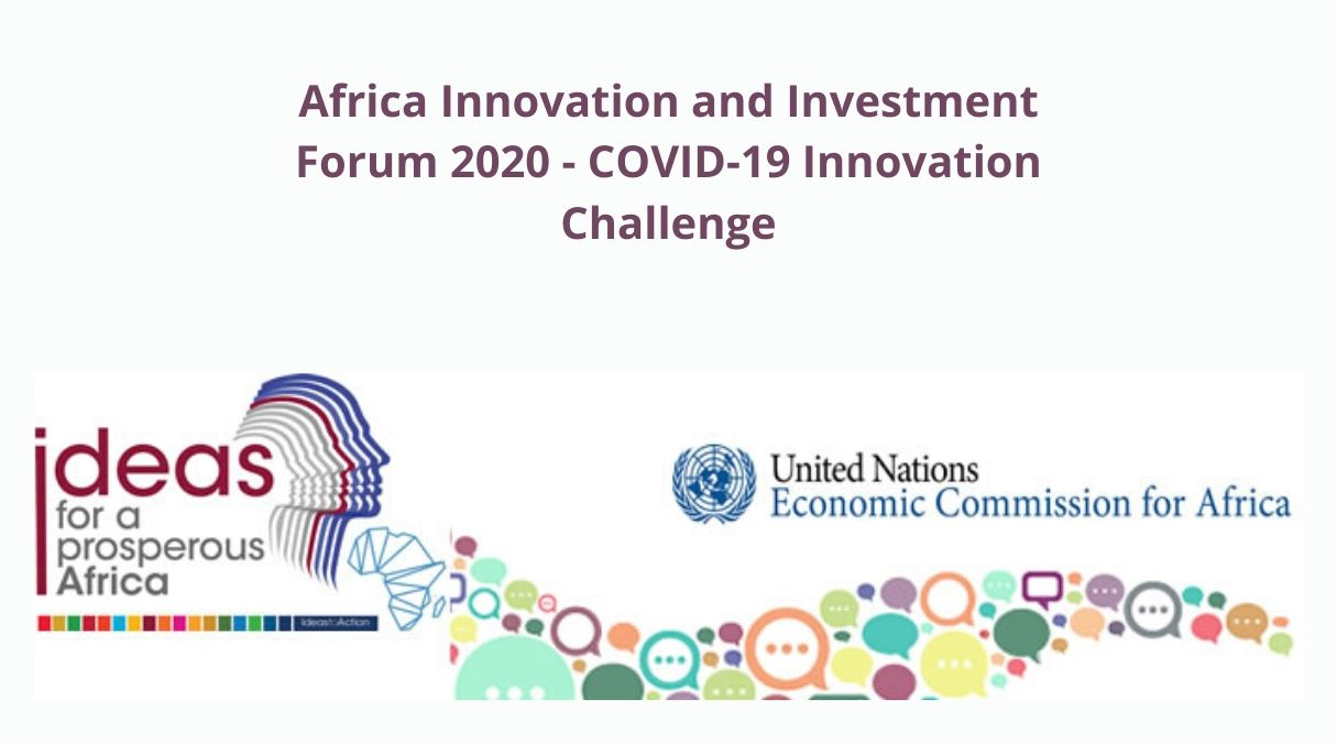 ECA Africa Innovation and Investment Forum 2020 – COVID-19 Innovation Challenge