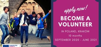 Call for Volunteers: Eco-Solidarity – ESC Project in Krakow for EU and non-EU citizens
