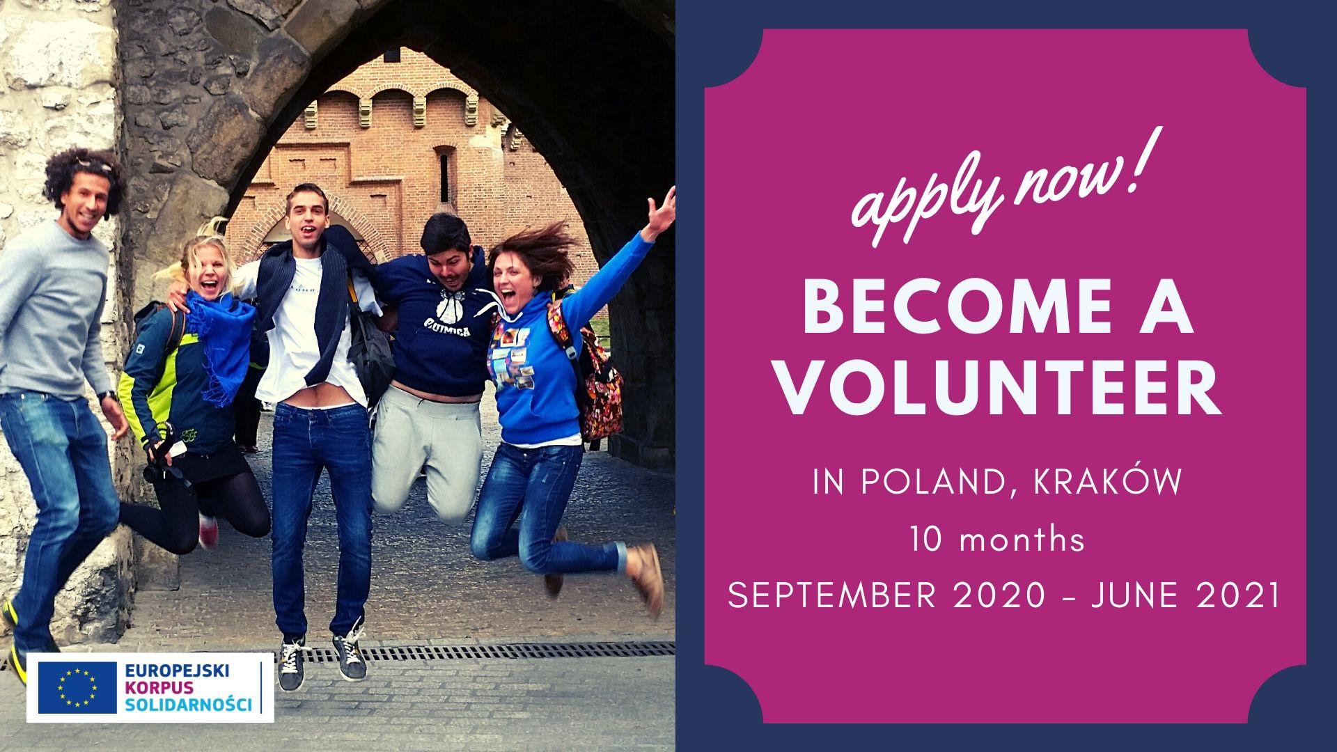 Call for Volunteers: Eco-Solidarity – ESC Project in Krakow for EU and non-EU citizens