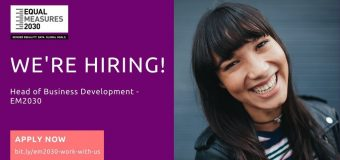 Equal Measures 2030 (EM2030) is looking for Head of Business Development