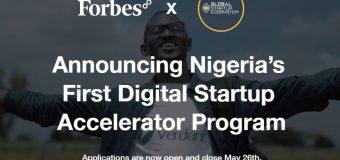 Forbes8 Digital Startup Accelerator Program 2020 for Nigerian startups ($100k in free credits)