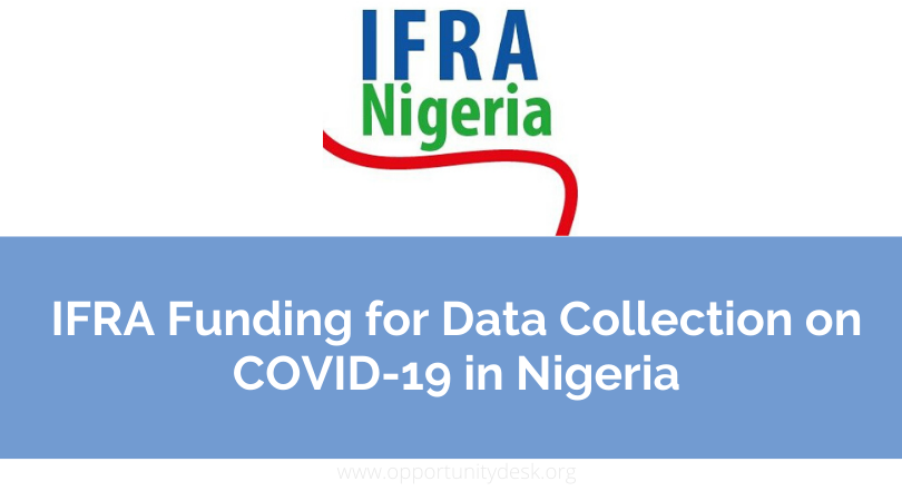 Call for Applications: IFRA Funding for Data Collection on COVID-19 in Nigeria