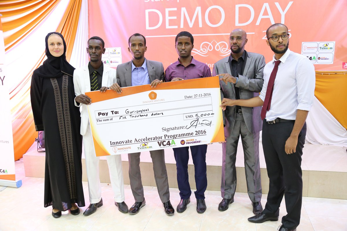 Innovate Accelerator Program 2020 for Somali Startups (Funding up to $30,000)