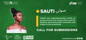 "African Union Office of the Youth Envoy Call for submissions: ""Sauti صوتي"" Africa Young Feminist Blog (Paid)"