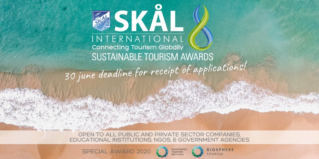 Skål International Sustainable Tourism Awards 2020