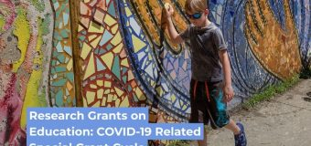 Spencer Foundation Research Grants on Education: COVID-19 Related Special Grant Cycle