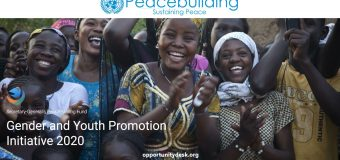 United Nations Secretary-General's Peacebuilding Fund (PBF) Gender and Youth Promotion Initiative 2020