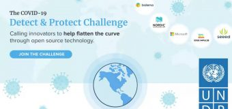 UNDP COVID-19 Detect & Protect Challenge 2020 (Win up to $25,000 in prizes)