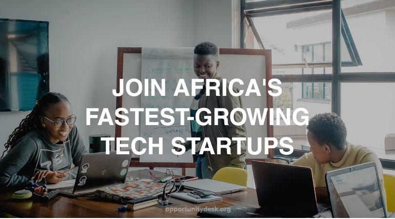 Venture for Africa's Covid-19 Remote Fellowship Program 2020 for Talented Individuals