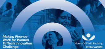 Women's World Banking Making Finance Work for Women FinTech Innovation Challenge 2020