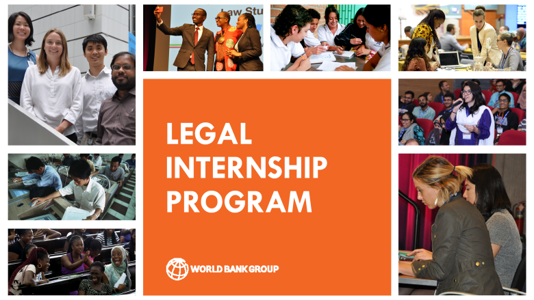 World Bank Legal Vice Presidency's (LEG VPU) Internship Program 2020