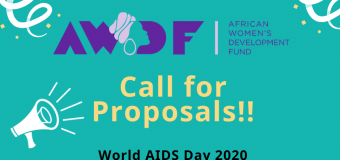 African Women's Development Fund (AWDF) World AIDS Day Grants 2020 (up to US$2,000)