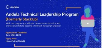 Andela Technical Leadership Program 2020 for Rwandese nationals (Cohort 4)