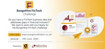 BongoHive FinTech Challenge 2020 for FinTech Startups in Zambia