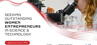 Cartier Women's Initiative Science & Technology Pioneer Award 2021