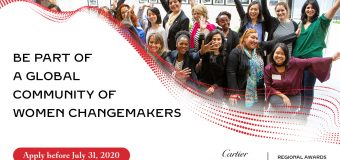 Cartier Women's Initiative Regional Award 2021 for Women Entrepreneurs (Up to US$ 100,000 grant and more)